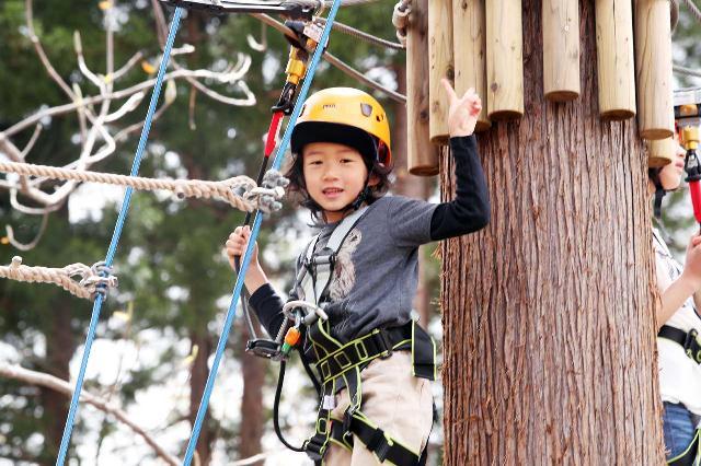 日本最大級!1万坪の森遊び「マウンテンアドベンチャー」妙高に誕生