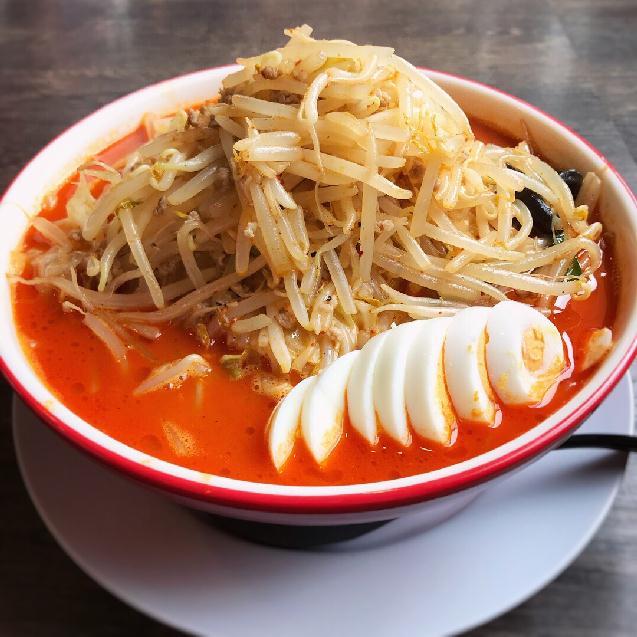 低糖質麺など3種類から麺が選べる♪西区「ダルマ食堂」旨辛タンメン