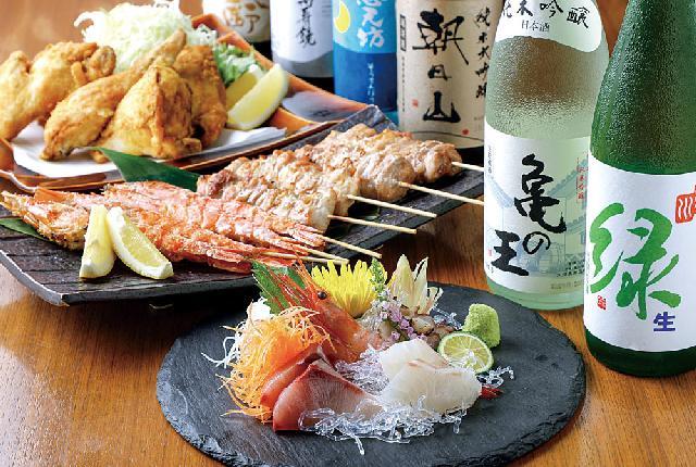 中央区笹口に居酒屋「炭火焼 HIKARI(ヒカリ)」オープン