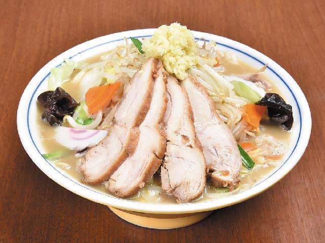 鶏づくし!個性の違う2つのスープが軸「ダルマ食堂」長岡にオープン