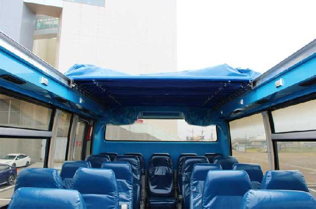 日本海側初の運行スタート!新潟市内を走るオープントップバス