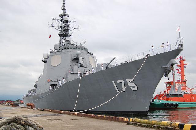 護衛艦「みょうこう」新潟東港で一般公開