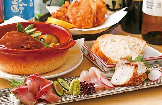 自慢の料理とレアな日本酒に舌鼓「豊詰酒場食堂 びりけんや」