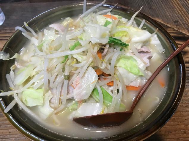 野菜チャージ!新潟市の「ポンポ子」はタンメンもボリューム満点!