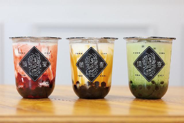 台湾の生タピオカと沖縄の黒糖を使用した「徳茶」が新潟駅構内に!