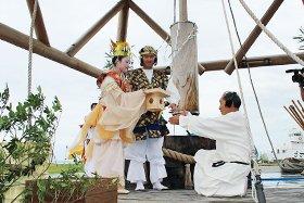 奴奈川姫と日本一の大ウス祭り
