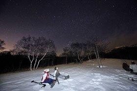 スノーシューナイトツアー 「月の旅・星の旅」