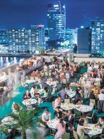 地上50mのビアガーデン The Rooftop Beer Terrace 2018