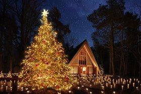 軽井沢高原教会 聖なる森のクリスマス「クリスマスキャンドルナイト2018」