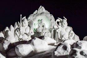 第70回 白い愛の祭典 十日町雪まつり