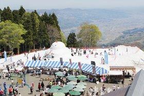 湯沢高原 春の雪まつり
