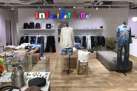 Intention Line B.P. Pop Up Store