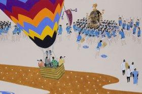「祭りのかたちと色を求めて」田澤則夫展