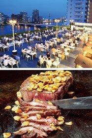 新潟グランドホテル「ルーフトップガーデン かわかぜレストラン」