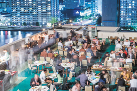 地上50mのビアガーデン The Rooftop Beer Terrace 2018