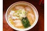 複雑ぅ〜なスープの旨み!!丸木屋