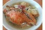 海老の次は来味の渡り蟹塩らぁ麺♪