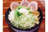 【西区】野菜もりもり大満足の油そば!