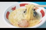 燕三条駅前に「立ち食い塩ラーメン かん哲」が登場!
