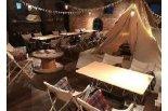 室内でキャンプ気分が味わえるお店♪